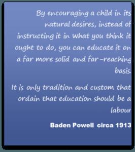 Baden Powell Quote